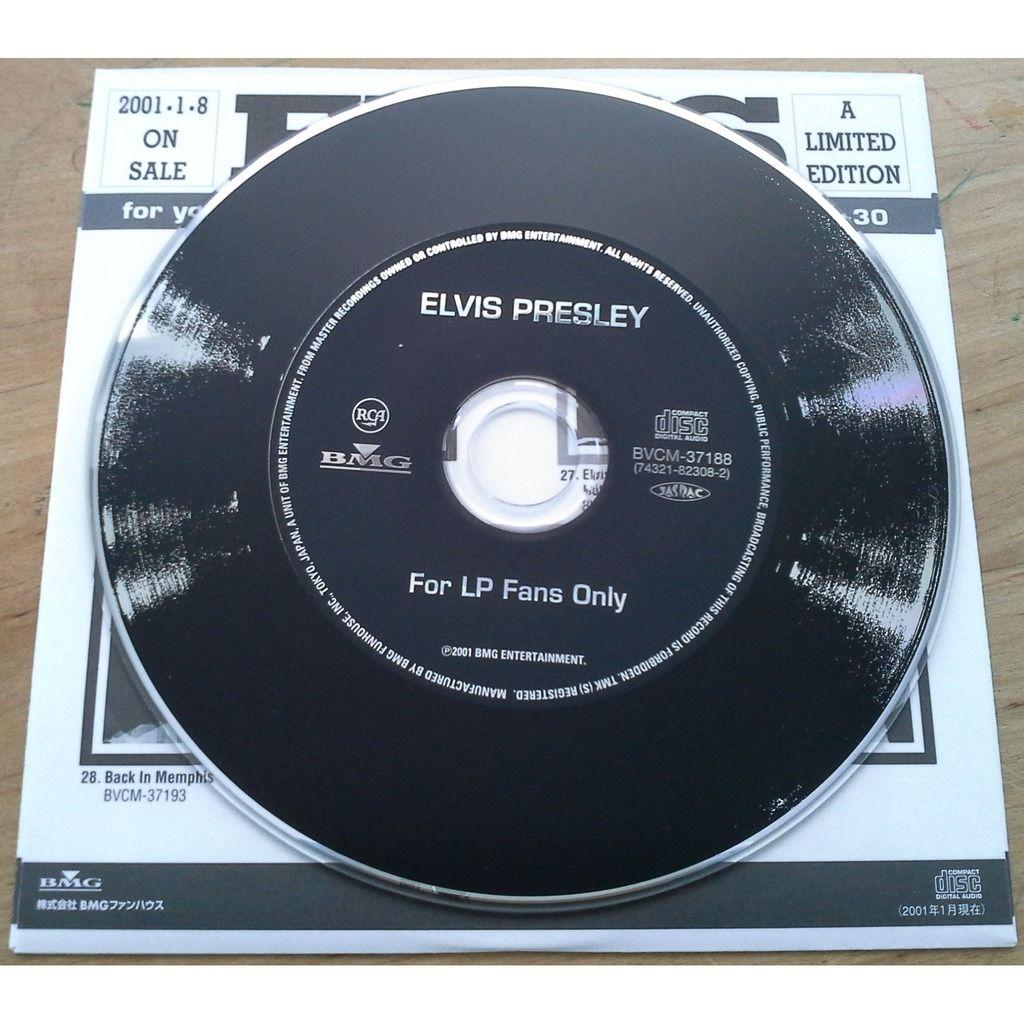 Elvis Presley For LP fans only
