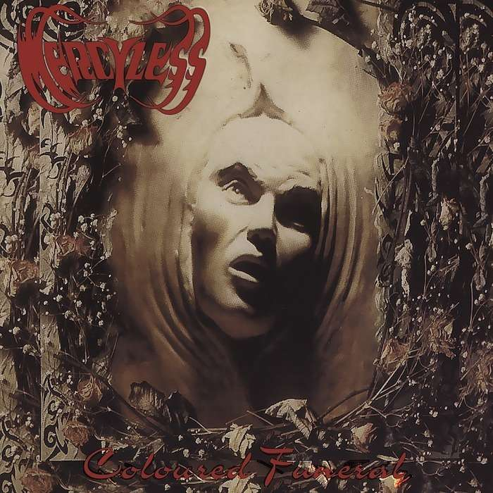 MERCYLESS Coloured Funeral. Splatter Vinyl