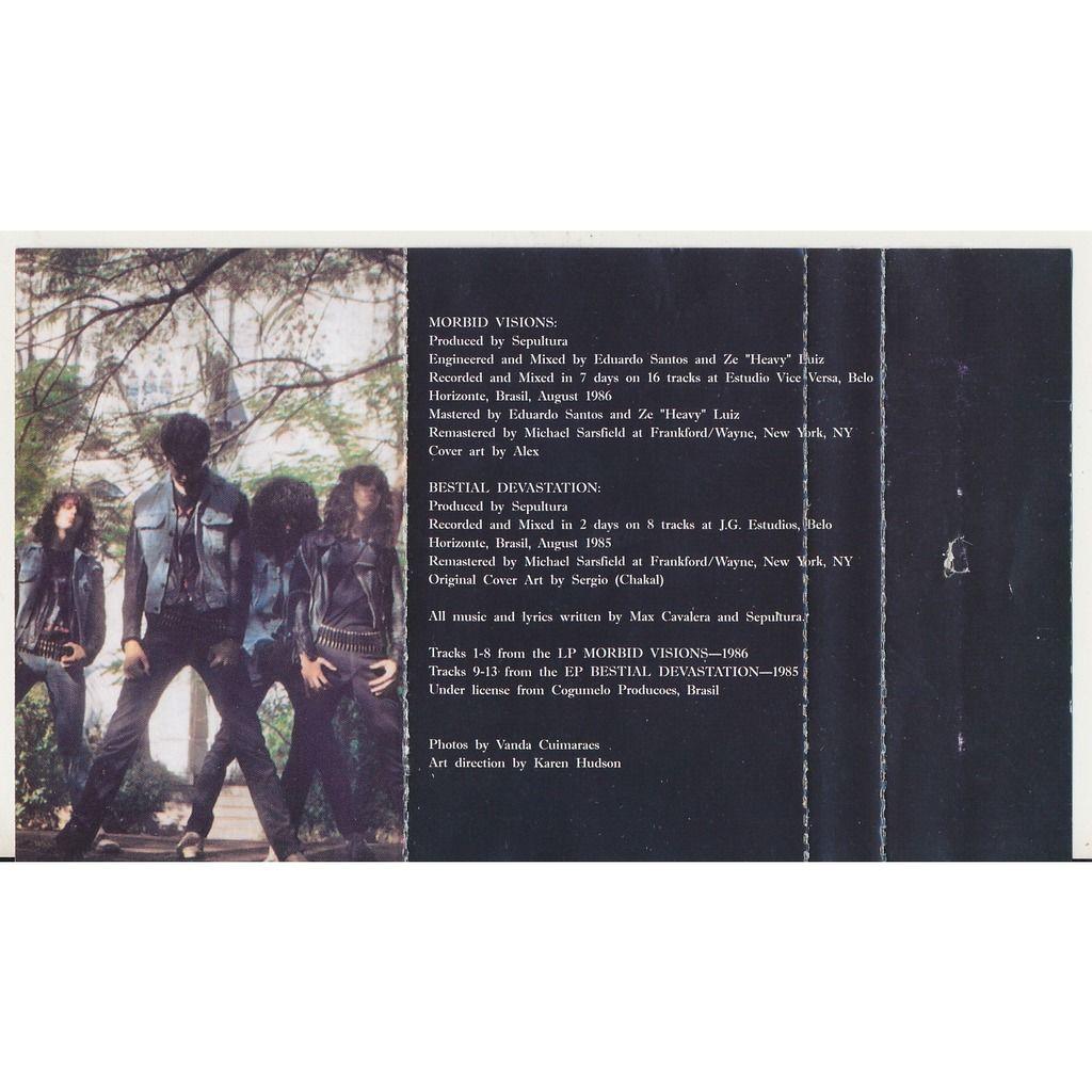Sepultura Morbid Visions 1986 (Ukraine licensed)