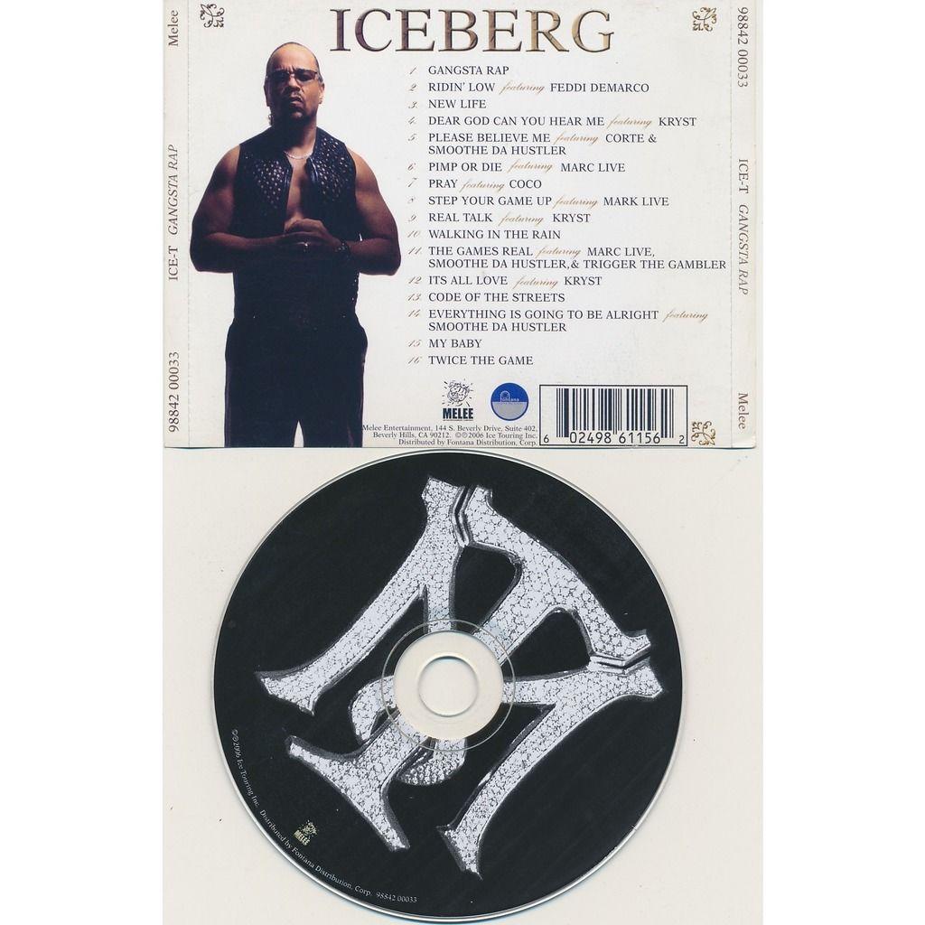 Ice-T Gangsta Rap Iceberg