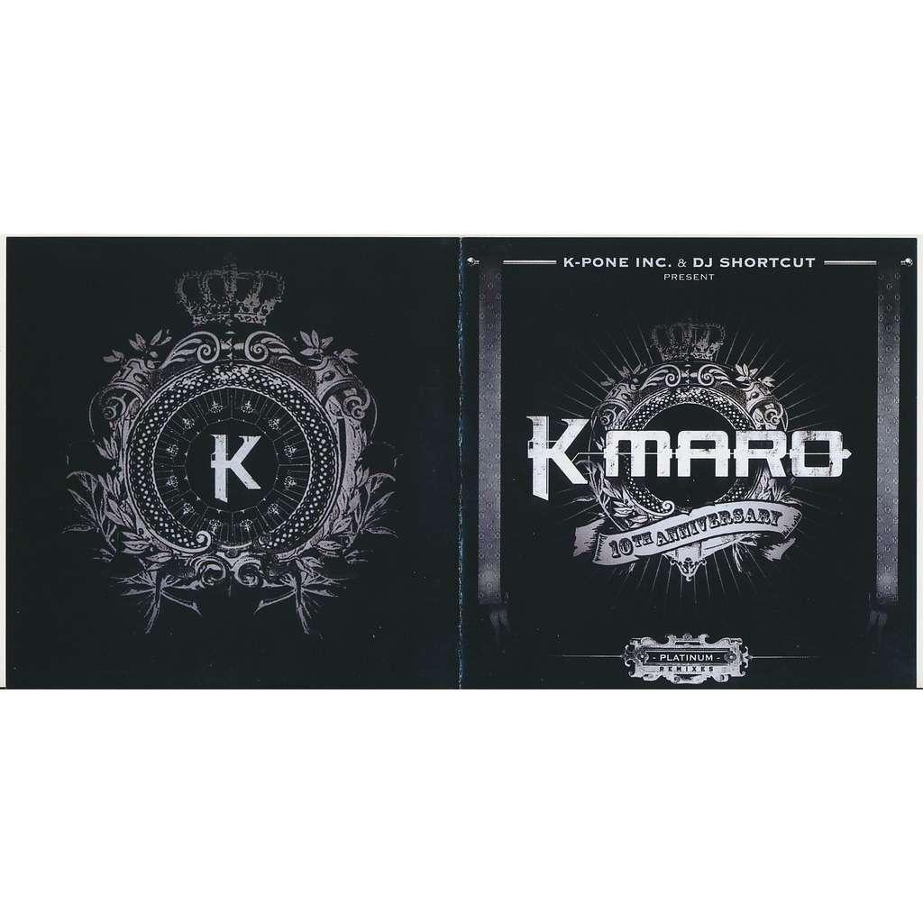 K-maro Platinum remixes 10th anniversary