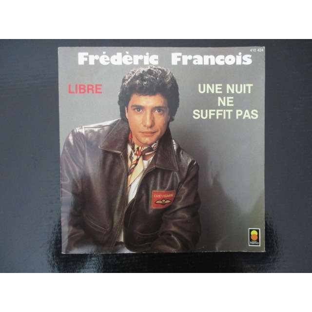 frederic françois libre / une nuit ne suffit pas