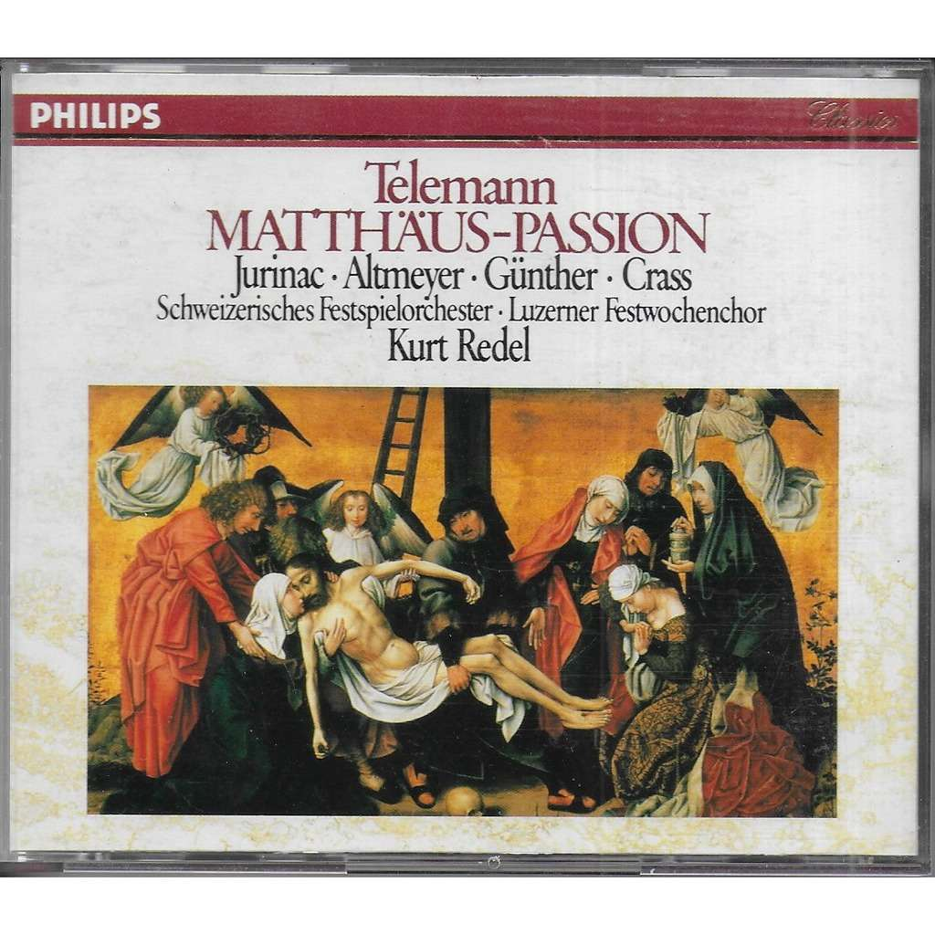 Georg Philipp TELEMANN Matthäus- Passion (oratorio) & Magnificat en ut majeur