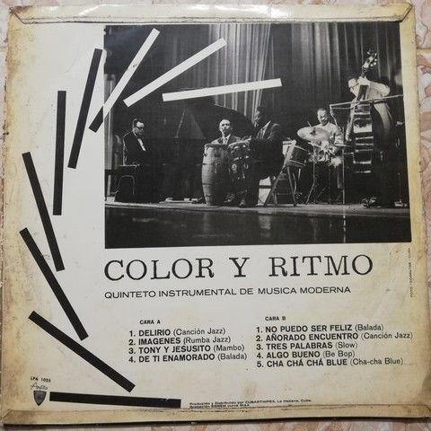 Quinteto instrumental de musica moderna Color y Ritmo