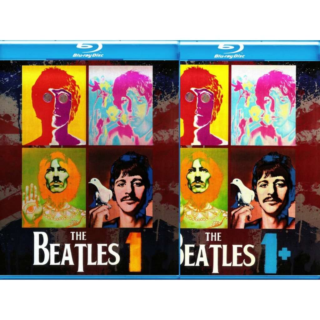 The Beatles 1 + 1 Plus Blu-Ray 2BD set Worldwide Free Shipping