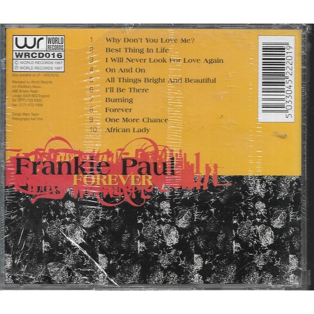 PAUL, FRANKIE FOREVER