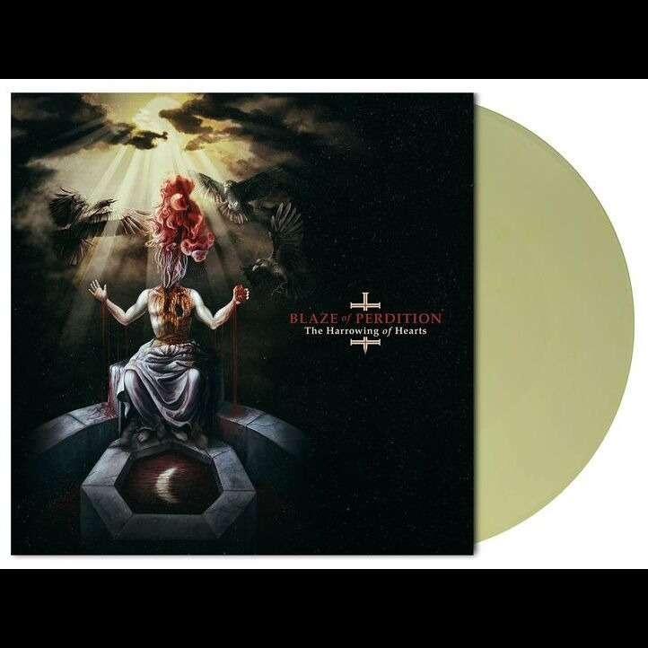 BLAZE OF PERDITION The Harrowing of Hearts. Yellow Vinyl