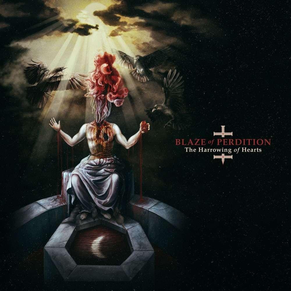 BLAZE OF PERDITION The Harrowing of Hearts. Black Vinyl