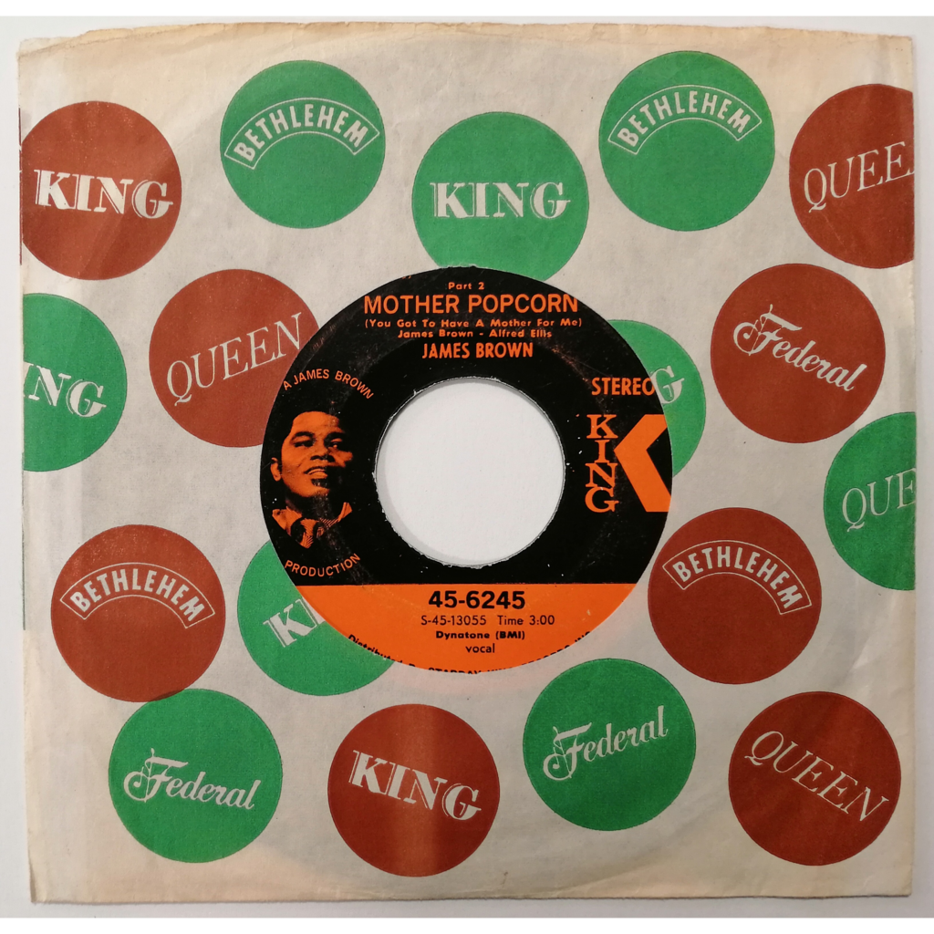 James Brown Mother Popcorn Part 1 & 2 (soul/funk)
