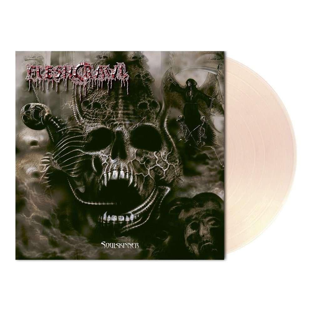 FLESHCRAWL Soulskinner. Clear Vinyl