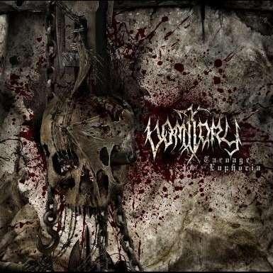 VOMITORY Carnage Euphoria. Black Vinyl
