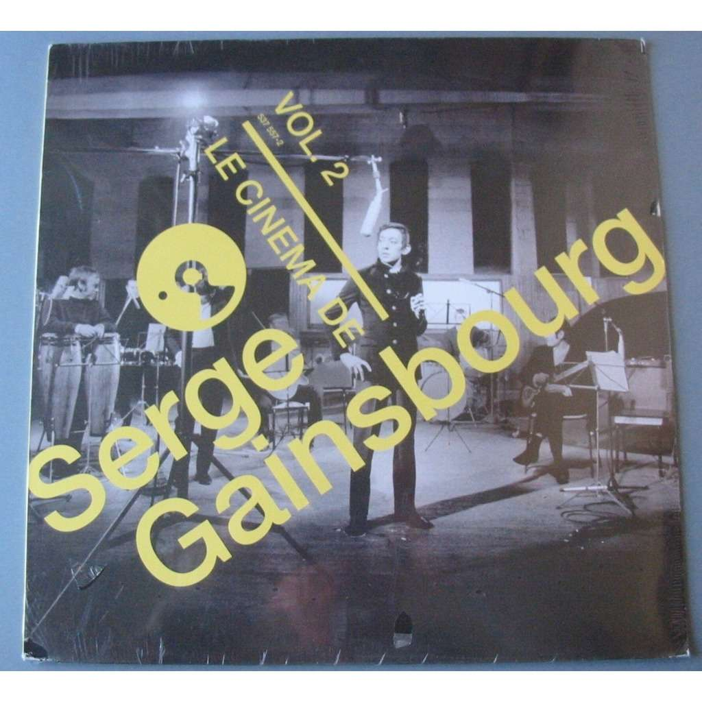 SERGE GAINSBOURG LE CINEMA DE SERGE GAINSBOURG Vol 2