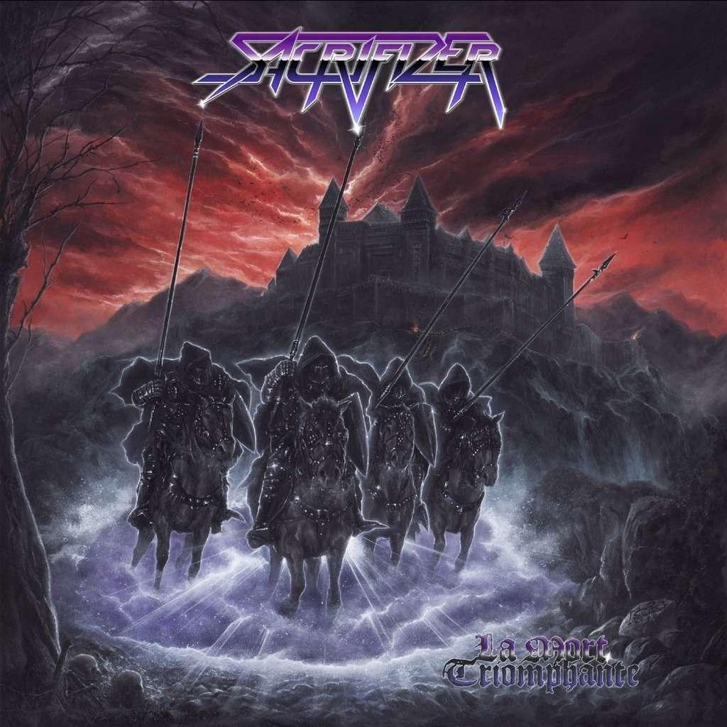 SACRIFIZER La Mort Triomphante. Black Vinyl