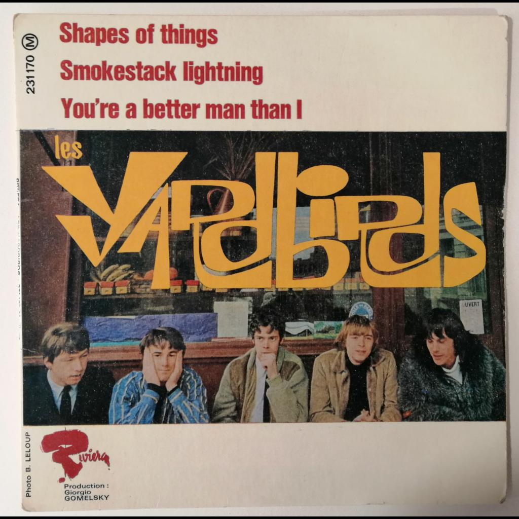 Yardbirds Shapes Of Things +3
