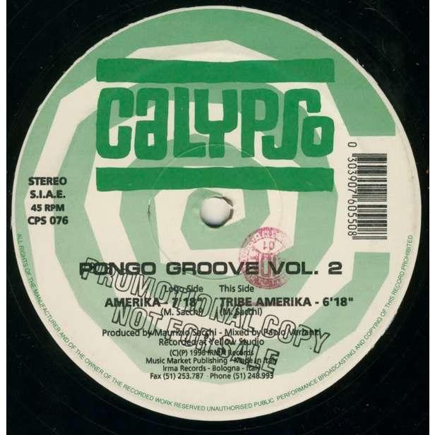 Pongo Groove Vol.2 Americka / Tribe Amerika