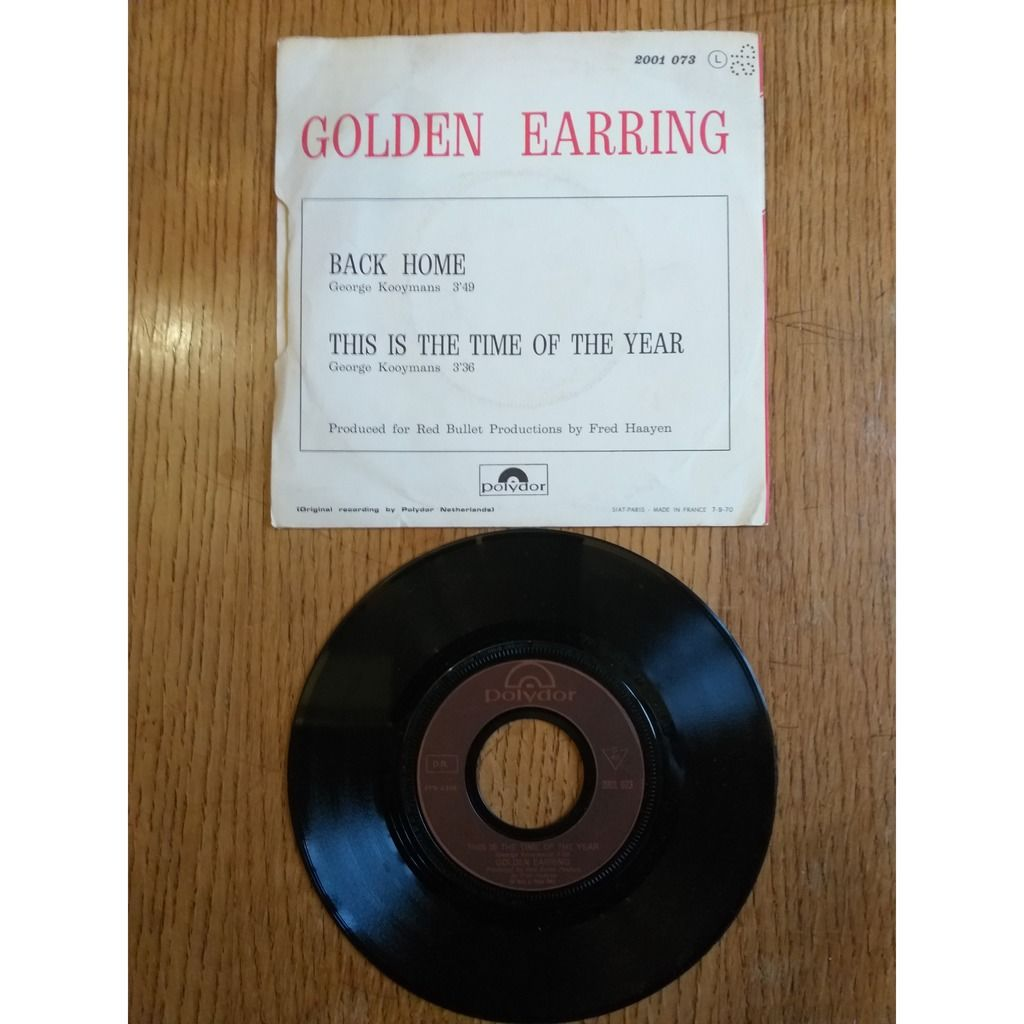 GOLDEN EARRING back home / this is the time of the year