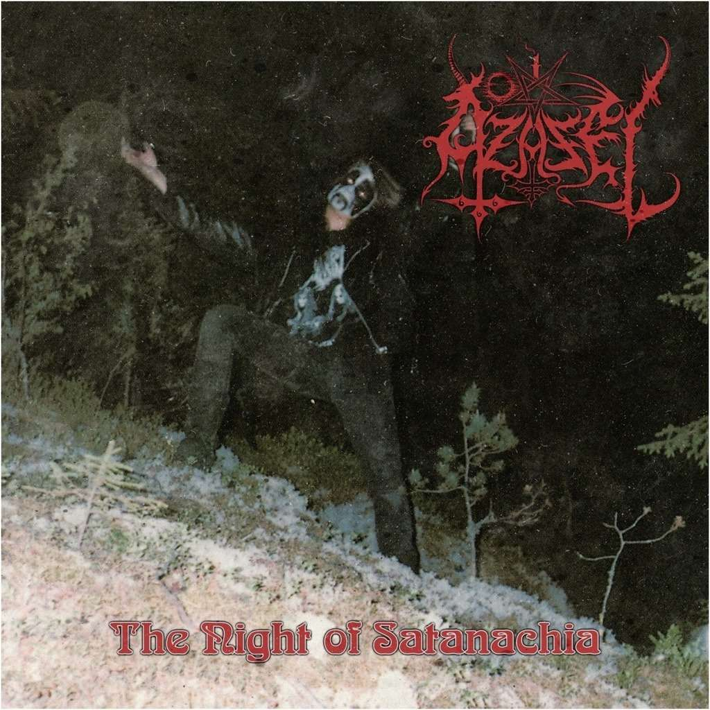 AZAZEL The Night of Satanachia. Black Vinyl