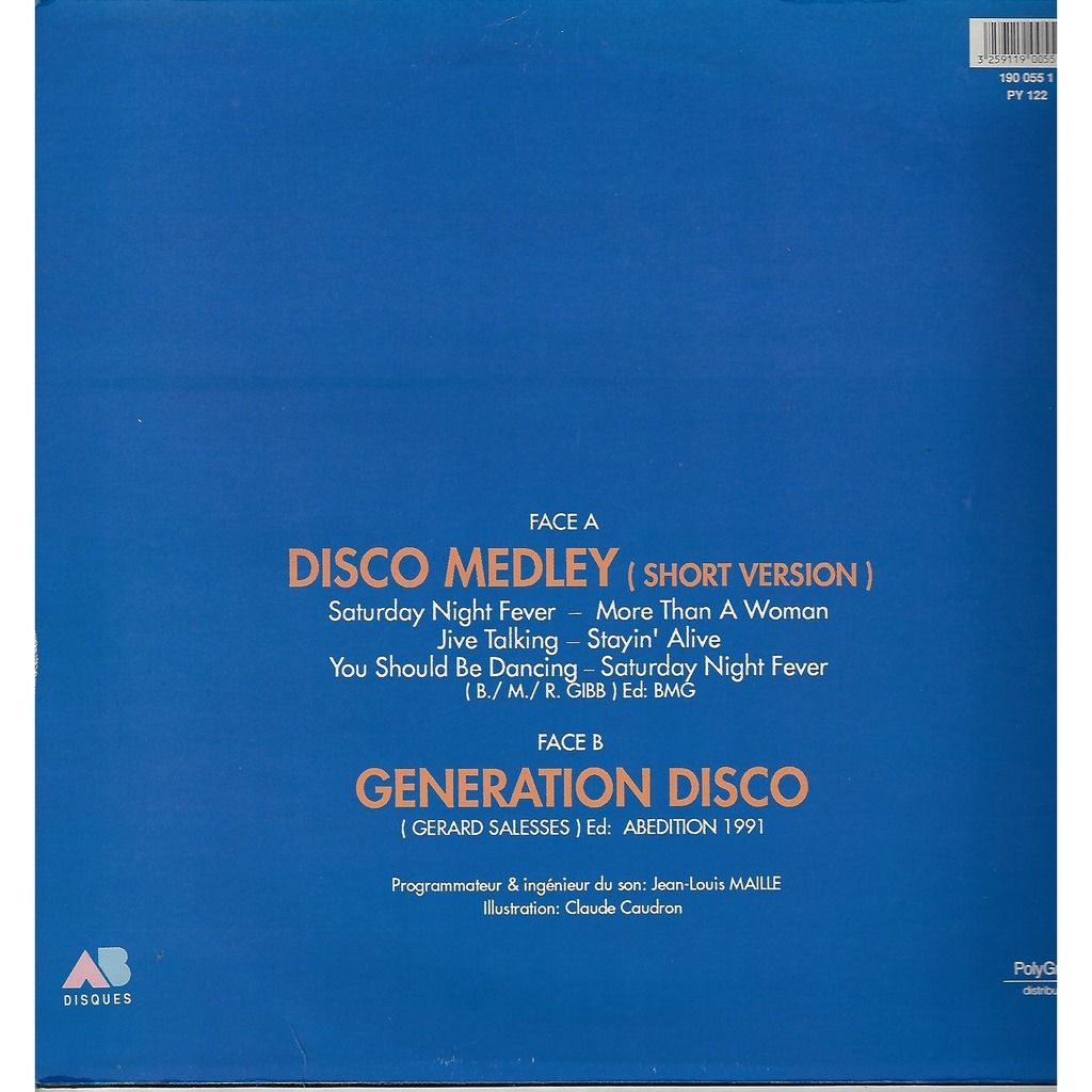SATURDAY LIVE disco medley / generation disco