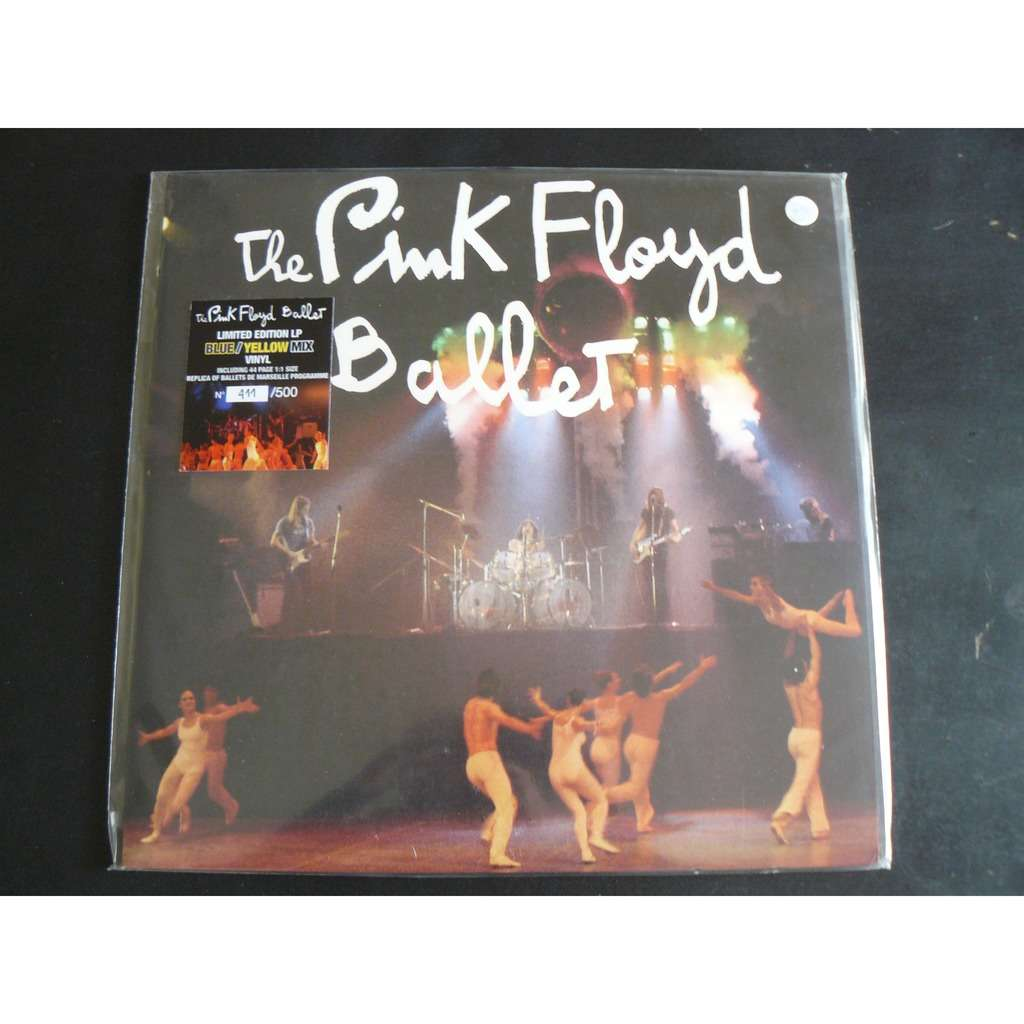 Pink Floyd BALLET / LIMITED EDITION 400 COPIES, BLUE/YELLOW VINYL, W. 44-PAGE BALLETS PROGRAMME!
