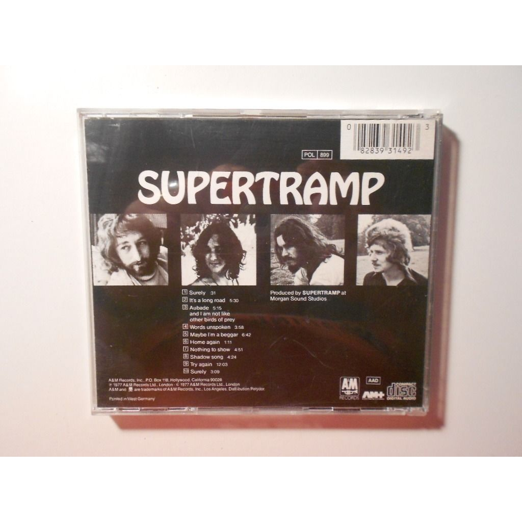 supertramp supertramp surely