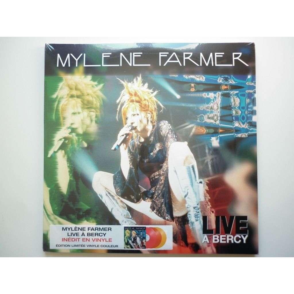 Mylene Farmer Live à Bercy 1996 inédit triple Vinyle couleur