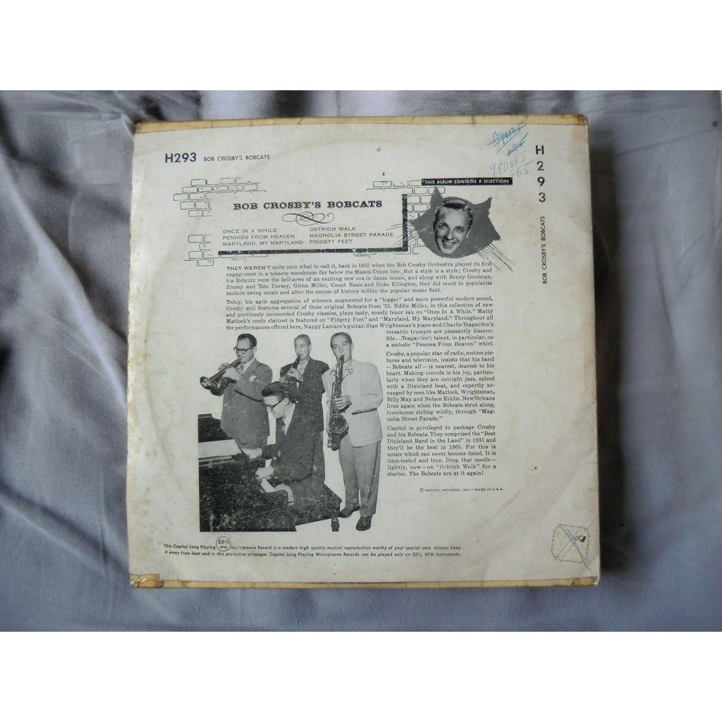 Bob CROSBY and His BOBCATS Bob Crosby's Bobcats (original USA first press - Deep Purple label - 1952)