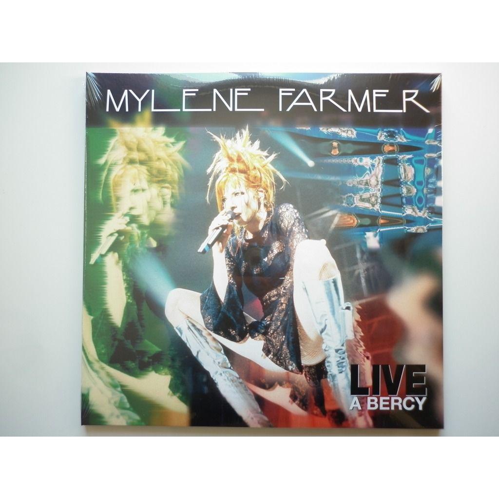 Mylene Farmer Live à Bercy 1996 inédit Exclusivité éditions 3 vinyles marbrés