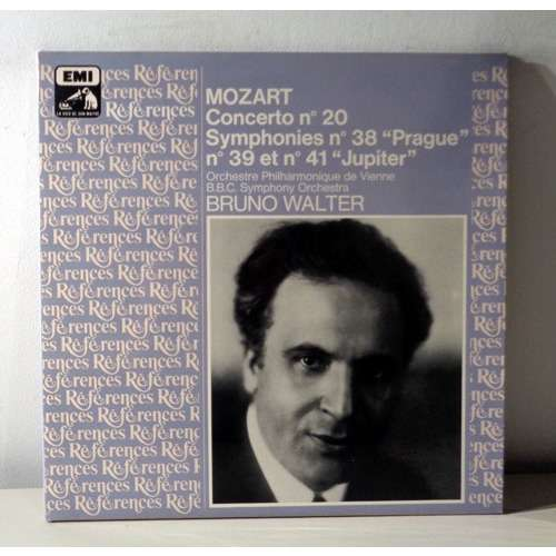 BRUNO WALTER & VIENNA PHILHARMONIC MOZART Concerto pour piano n°20 & Symphonies n°38 / 39 / 41