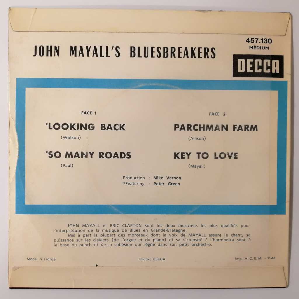John Mayall's Bluesbreakers Looking Back +3