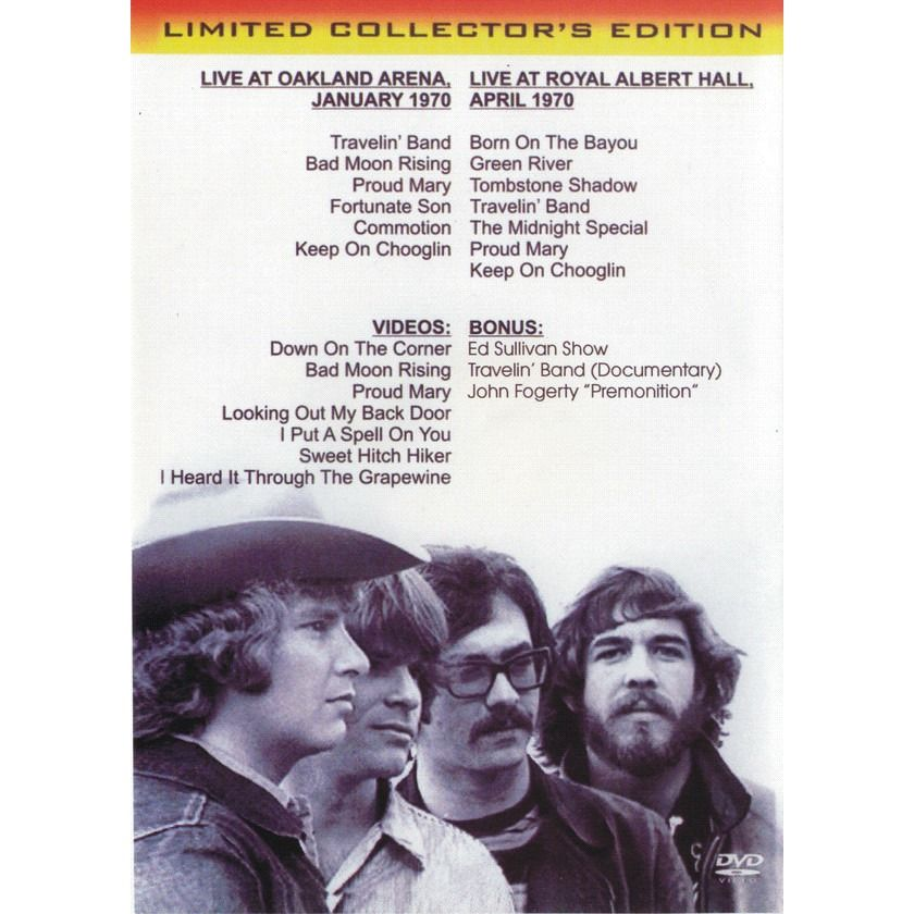 Creedence Clearwater Revival / John Fogerty The Lost Oakland Broadcast & Royal Albert Hall 1970 / Travellin' Band, Premonition