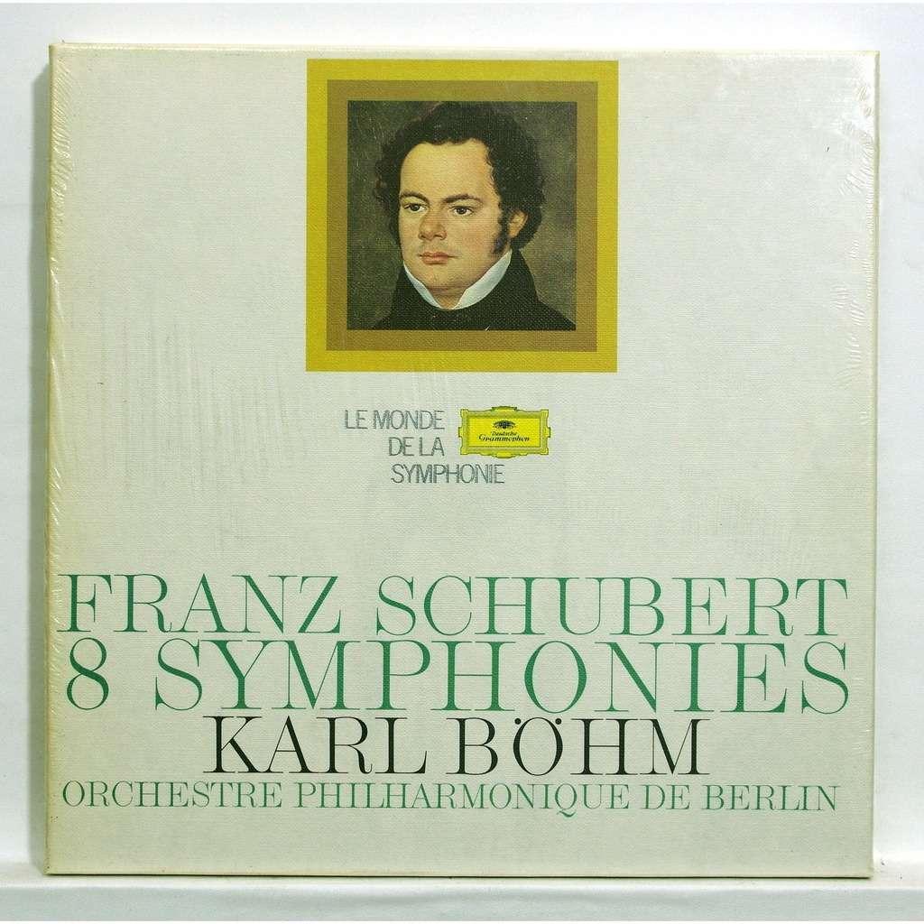karl bohm Schubert : 8 symphonies