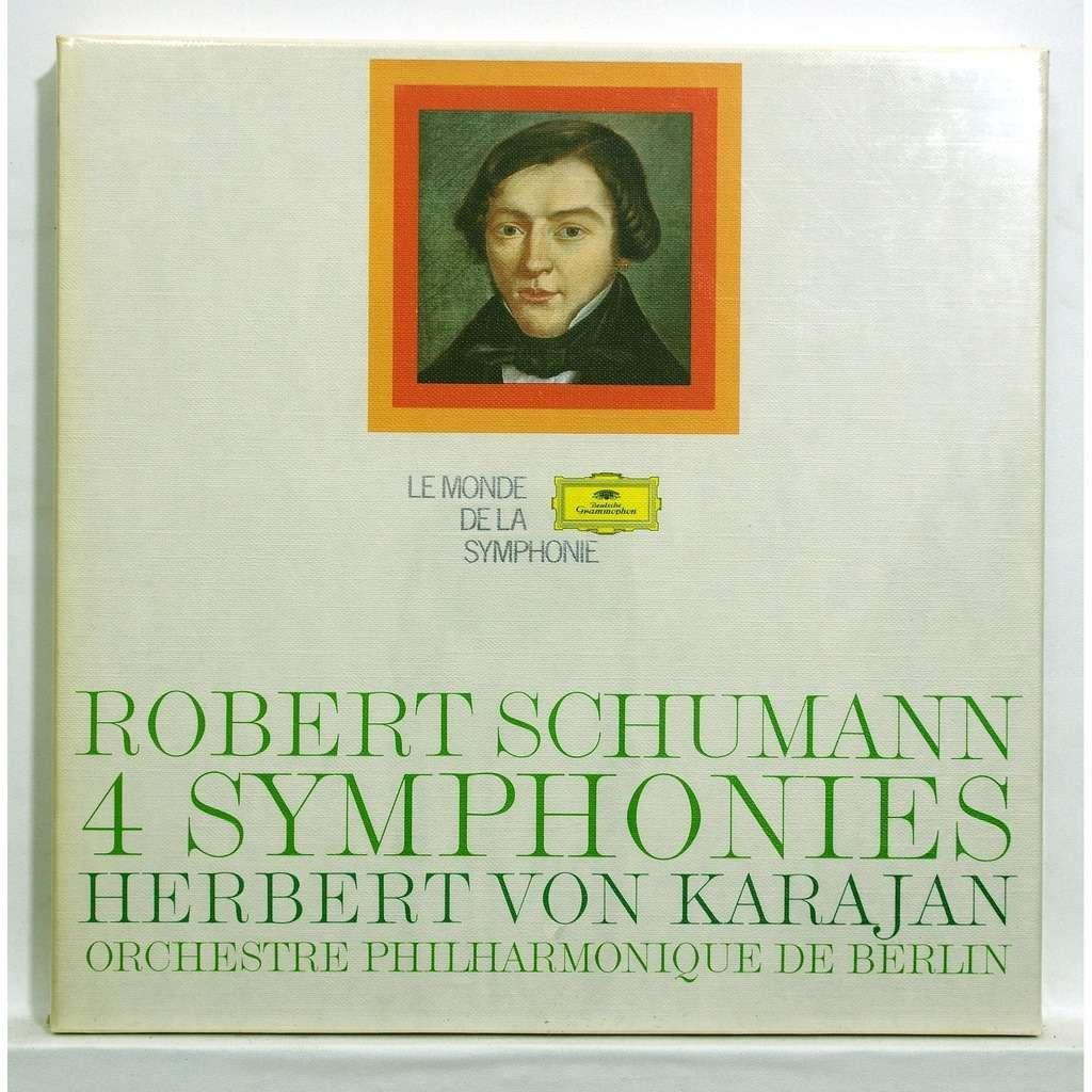 herbert von karajan Schumann : 4 symphonies