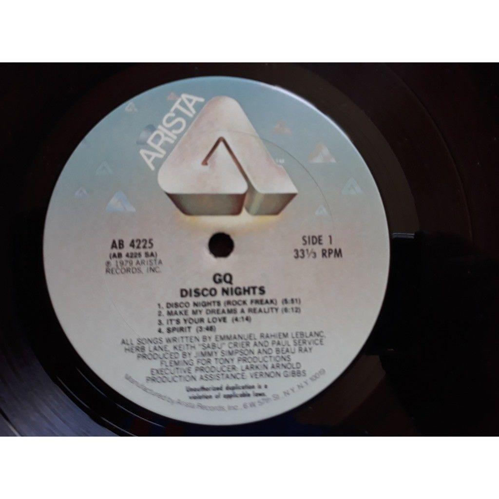 GQ - Disco Nights (LP, Album, San) GQ - Disco Nights (LP, Album, San)