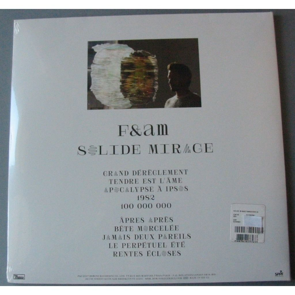 FRANCIS & THE ATLAS MOUNTAINS SOLIDE MIRAGE LIMITED EDITION
