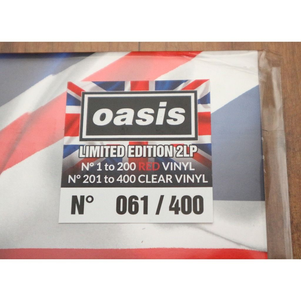Oasis All Your Dreams Are Made - Earl's Court '95 / London, UK 1995 / Ltd to 400, 2LP, Red Vinyl