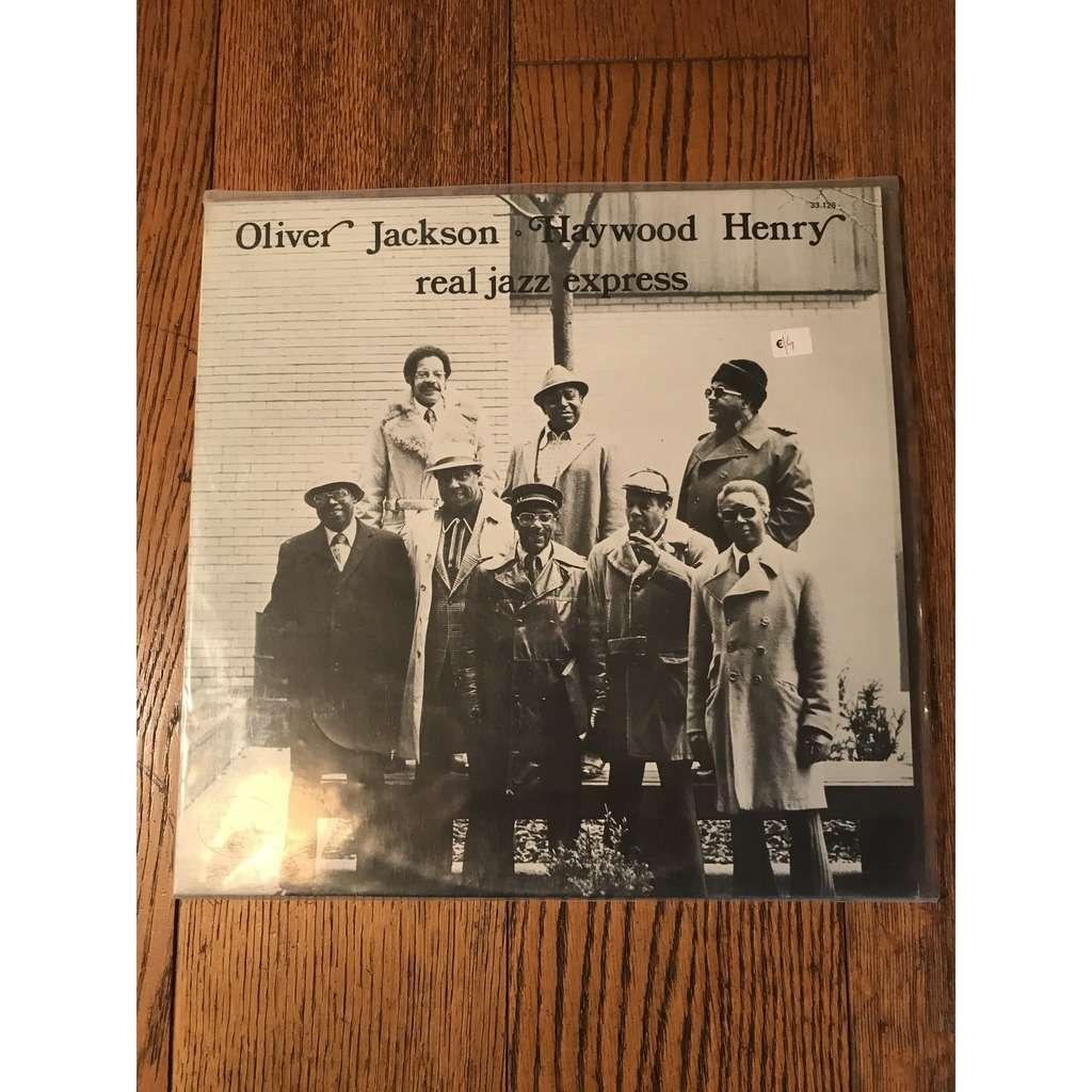 Olivier Jackson & Haywood Henry Real Jazz Express