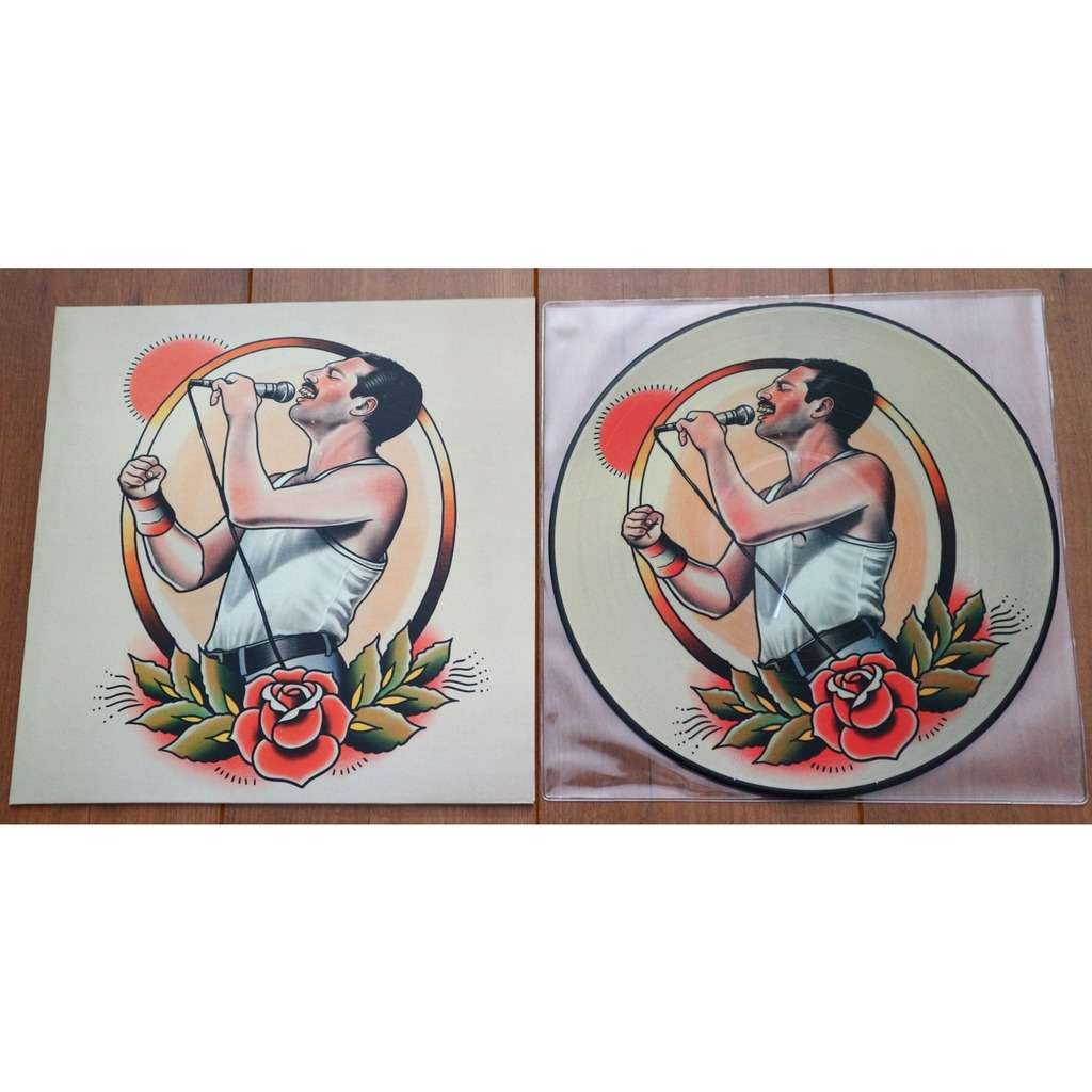 Queen We Will Rock You / Special limited edition picture disc for Queen Fan Club Japan