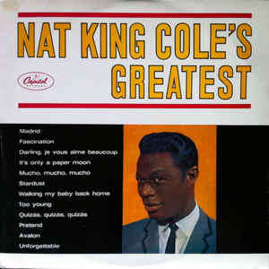 Nat King Cole Nat King Cole's Greatest