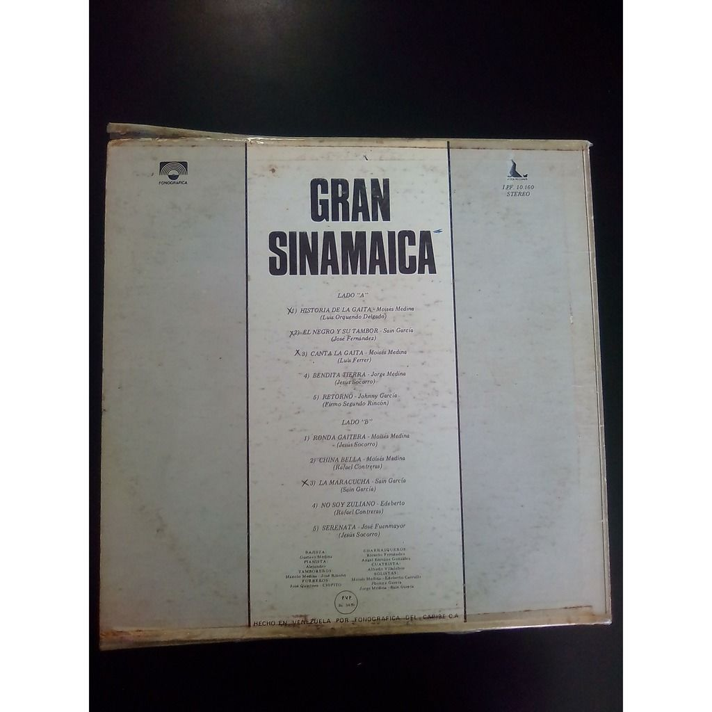 gran sinamaica historia de la gaita