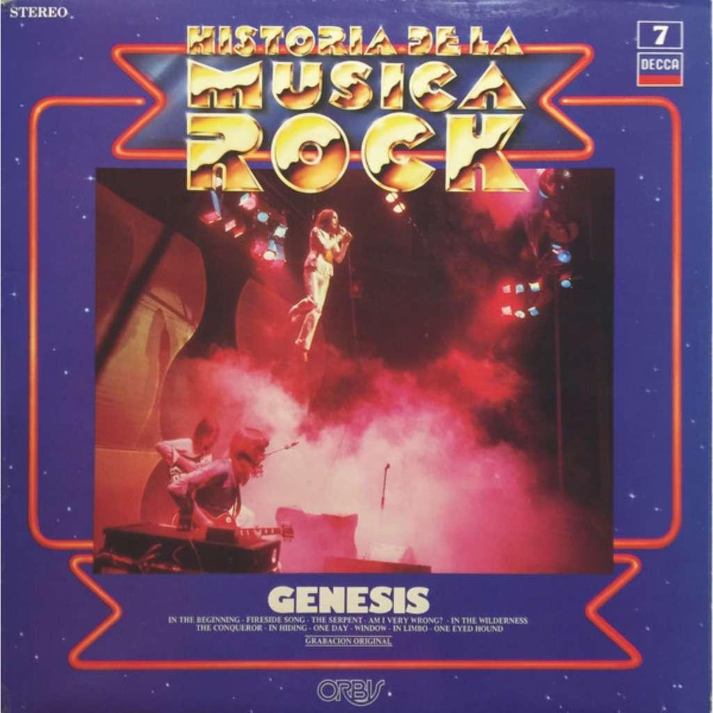 GENESIS HISTORIA DE LA MUSICA ROCK 7