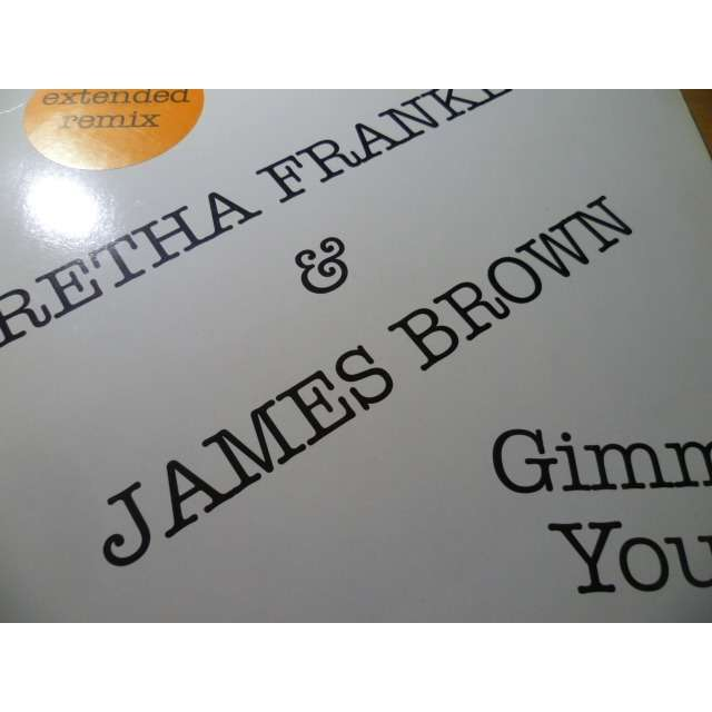 aretha franklin & james brown gimme your love
