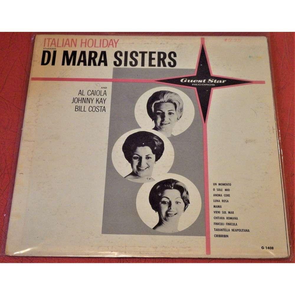 Di Mara Sisters, Al Caiola, Johnny Kay, Bill Costa Italian Holiday