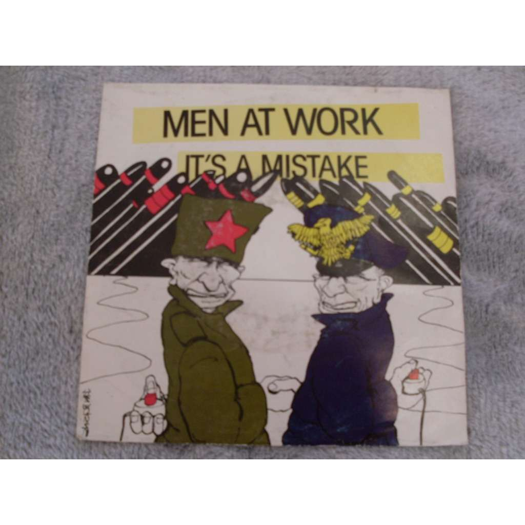 men at work It's a mistake