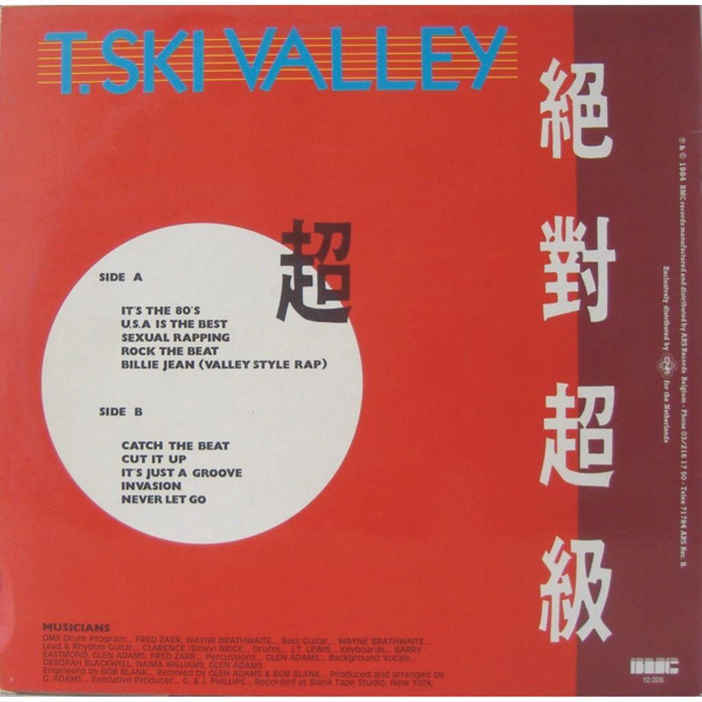 T. SKI VALLEY IN THE 80'S