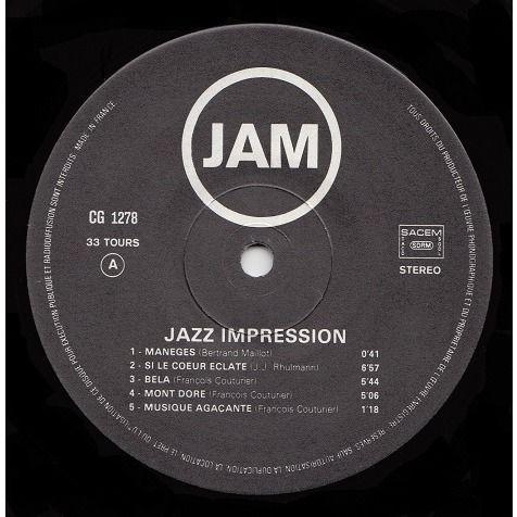 jazz impression le vice et la paresse