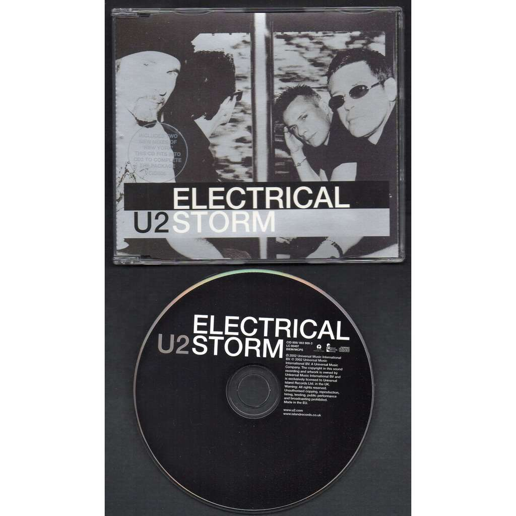 U2 ELECTRICAL STORM - NEW YORK ( NICE MIX ) - NEW YORK ( NASTY MIX ) .. .. [ CD1 )