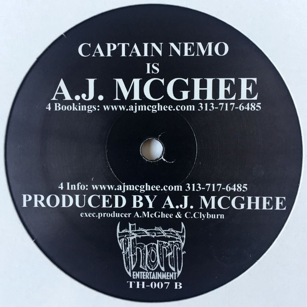 Captain Nemo Is A.J. McGhee Keep It Real EP