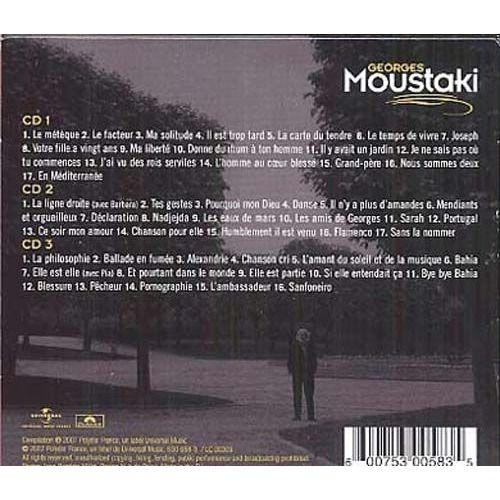 Georges Moustaki Les 50 plus belles chansons