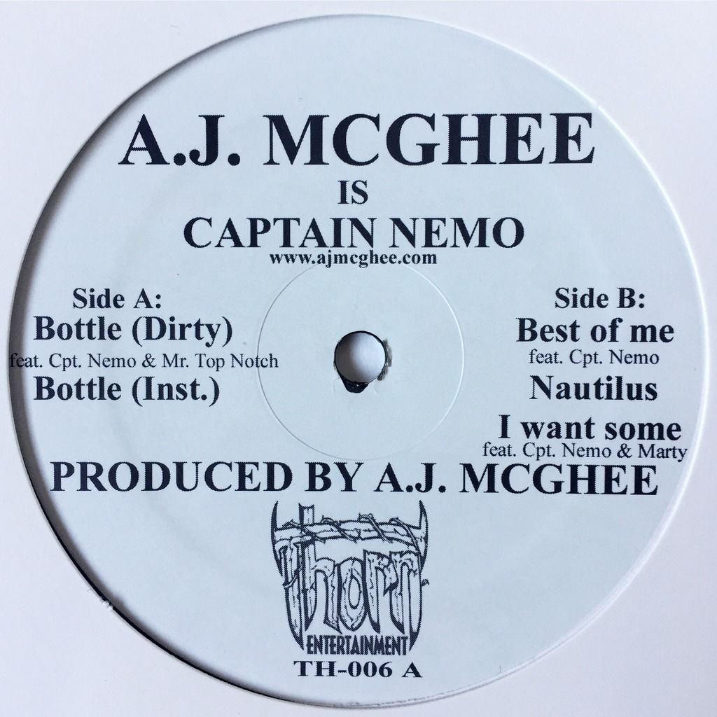 A.J. MCGhee Is Captain Nemo Bottle E.P.