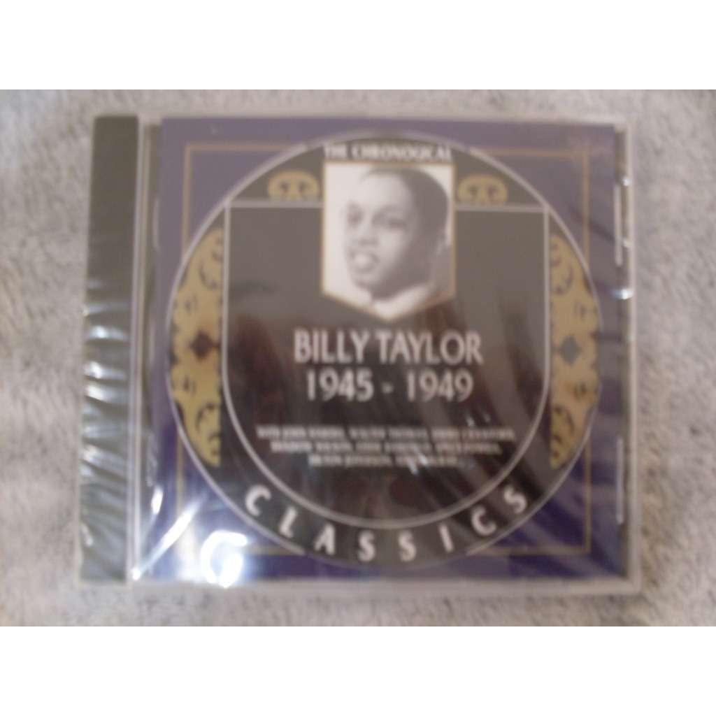 billy taylor 1945 - 1949